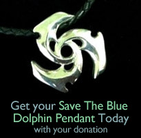 Donate and receive your free SaveTheBlue necklace!